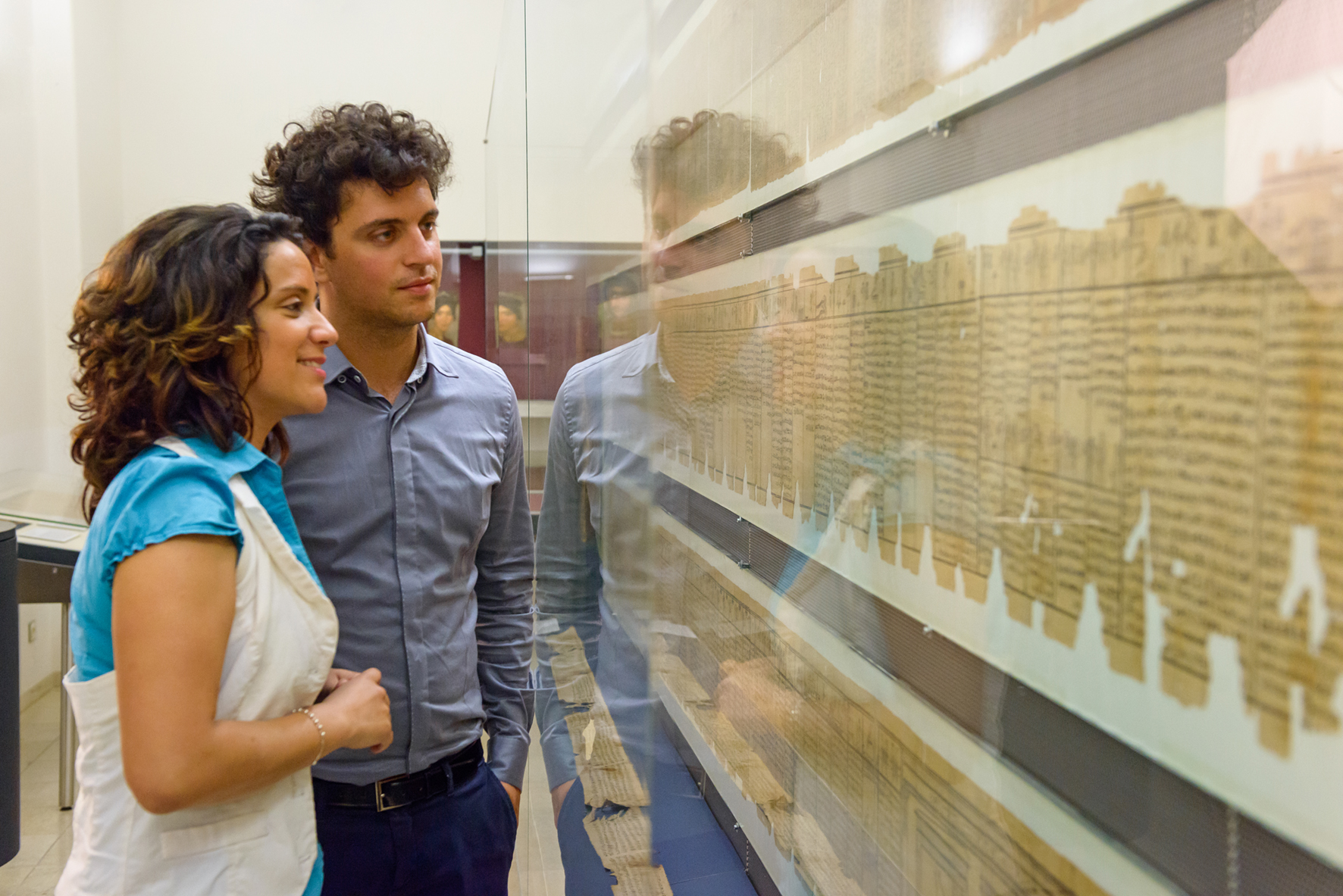 Papyrus museum of the            National Austrian Library- Photo courtesy of the ÖNB(1)