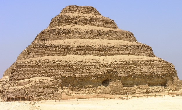 Saqqara - Pyramid of Djoser - Creative Commons via Wikimedia