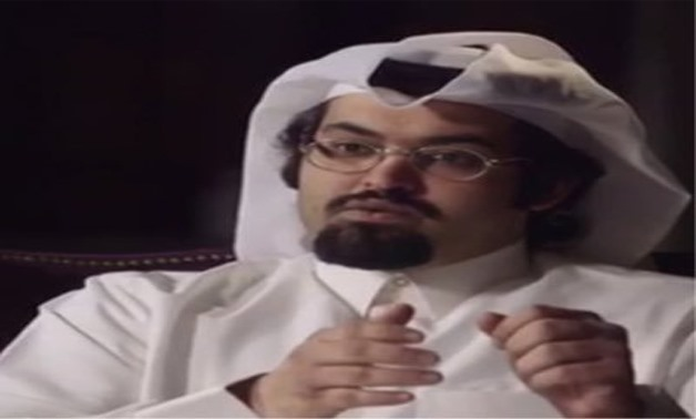 Qatari opposition activist President of Qatar National Democratic Party Khalid Al Hail - (courtesy to Al Hail's Twitter account photo)