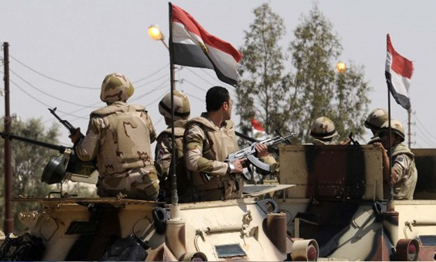 Armed Forces in Sinai - File photo