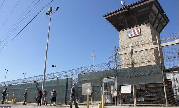 Canadian citizen Omar Khadr was imprisoned for 13 years at the notorious US military prison at Guantanamo Bay, Cuba, pictured here in a file photo