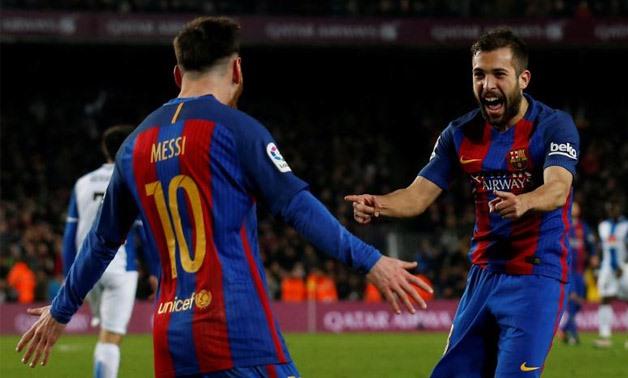 Messi - Alba