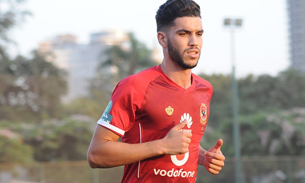 Walid Azarou - Press image courtesy Al Ahly official website