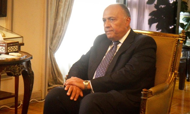 Minister of Foreign Affairs Sameh Shoukry - Amr Moustafa