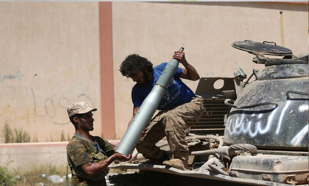 A member of the Libyan army's special forces prepares to enter the area of clashes with Islamist militants in their last stronghold in Benghazi, Libya, July 5, 2017. REUTERS