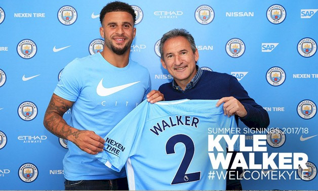 Kyle Walker – Press image courtesy Manchester City official Twitter account
