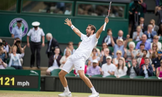 Cilic celebration for reaching the final tells a lot – Wimbledon Twitter Account