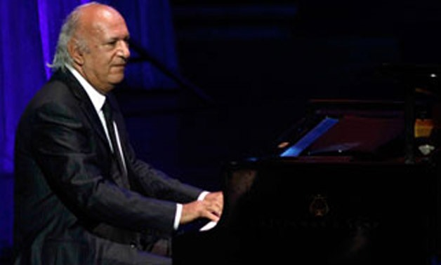 Omar Khairat in one of his concerts- File photo.