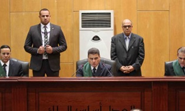 Chancellor Muhammad Fahmy president of Cairo Criminal Court - File Photo