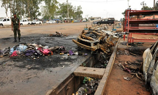 Bombing in Nigeria - Reuters