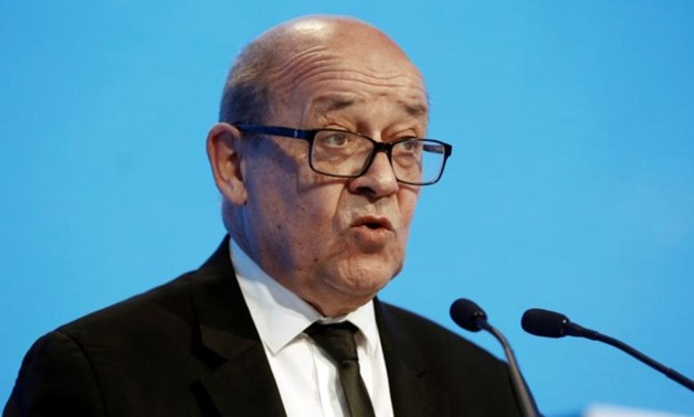 French Defence Minister Jean-Yves Le Drian - Reuters