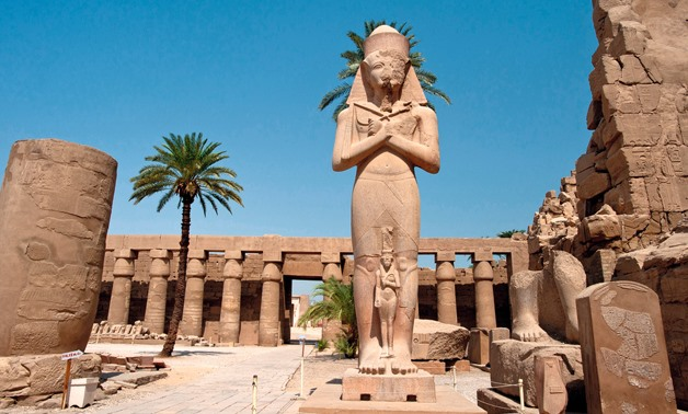 Temple of Luxor – Courtesy Wikimedia Commons