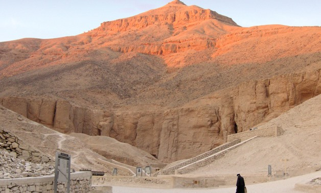 The Valley of Kings – Courtesy Wikimedia