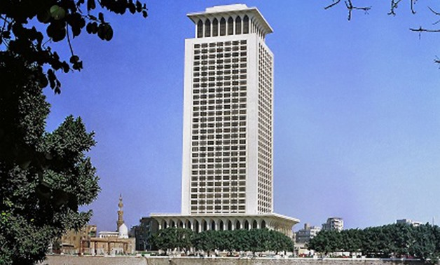 Building of the Egyptian Ministry of Foreign Affairs- File Photo