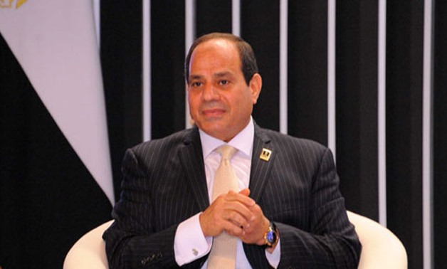 President Abdel Fatah al-Sisi - File Photo