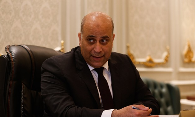 Head of the Parliament's Economic committee Amr Ghallab - File photo