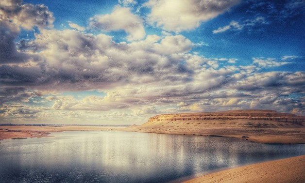 The Magic Lake in Fayoum – Facebook