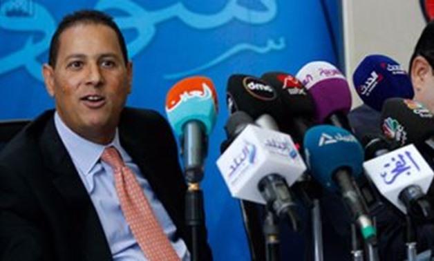 FILE - Head of the Financial Regulatory Authority (FRA) Mohamed Omran