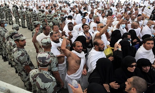 Iranian pilgrims  during Hajj - AFP