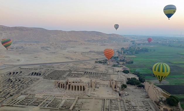 Hot air balloons in Luxor - Pixabay