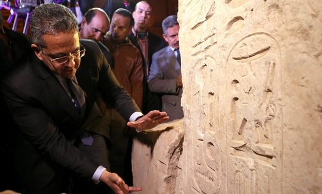 FILE: Minister of Antiquities Khaled Al Anani