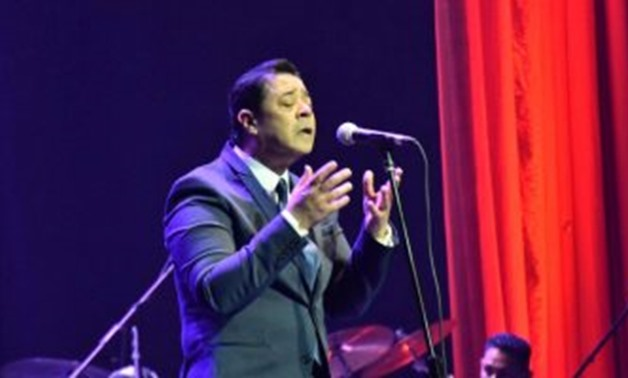 Singer Medhat Saleh - File photo