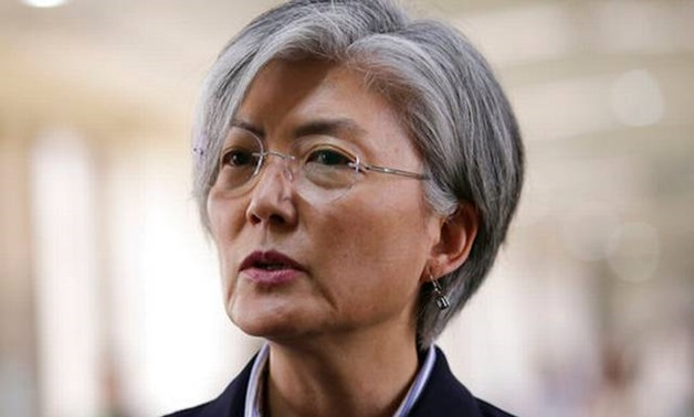 © Mohd Rasfan / AFP   South Korea's Foreign Minister Kang Kyung-wha listens to the opening remarks during the 18th ASEAN Plus Three Foreign Ministers Meeting in Manila on August 7, 2017.