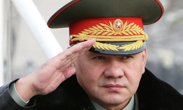 Russian Defense Minister Sergey Shoigu - File photo