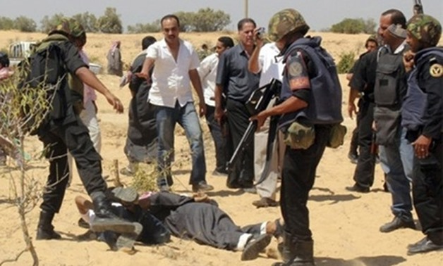 North Sinai security forces - File photo
