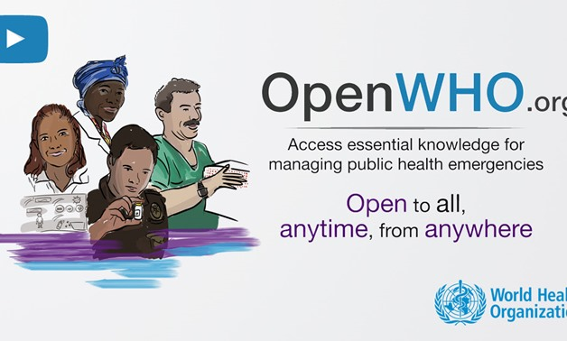 WHO free e-learning platform OpenWHO - CC WHO website
