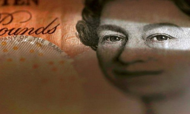 An English ten Pound note is seen in an illustration taken March 16, 2016.