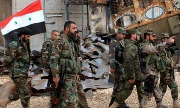 The Syrian army - File photo