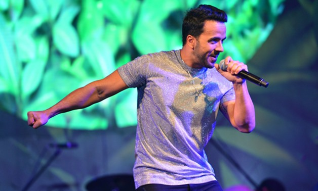 Luis Fonsi performing in Egypt- by Egypt Today