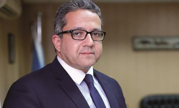 Khaled El-Anany, Minister of Antiquities.