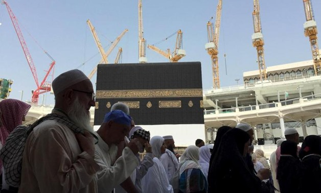 File - Grand Mosque in Mecca - REUTERS