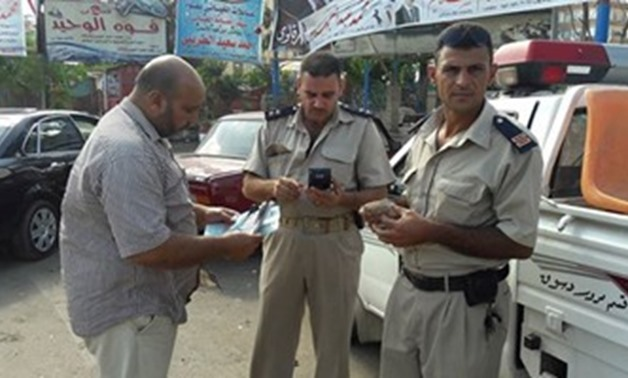 FILE- Two security policemen at Salloum crossing - File Photo
