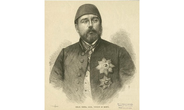 A replica of Isma'il Pasha - File photo