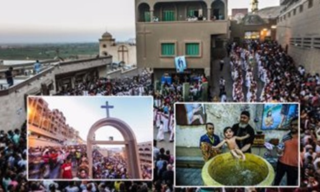 Video of the Copts celebration of Birth of Virgin Mary