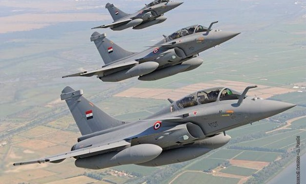 "Stunning Pictures of the First three Rafale ""omnirole"" jets delivered to Egypt"