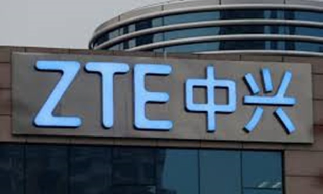 The company name of ZTE is seen outside the ZTE R&D building in Shenzhen, China April 27, 2016.C