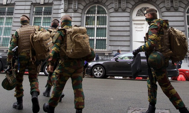 Man shot in Brussels after attacking soldiers - press photo
