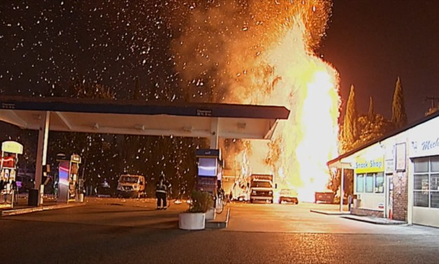 Huge fire at fuel station in Qalubiya put out - File photo