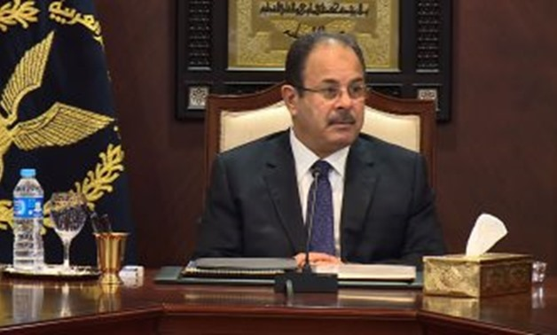 The Egyptian Minister of Interior - File photo