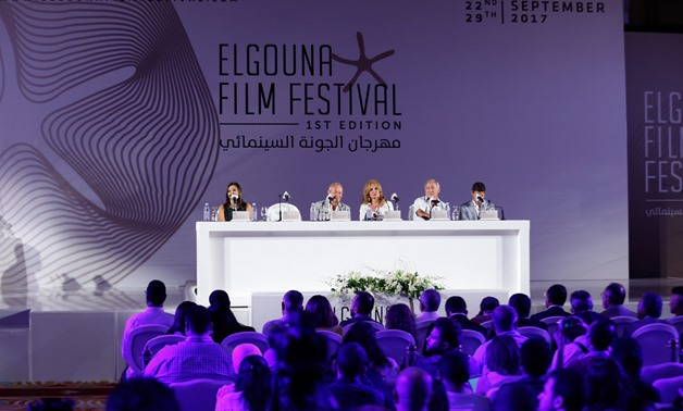 The press conference of the Egyptian Film Festival – Karim Abdel Aziz