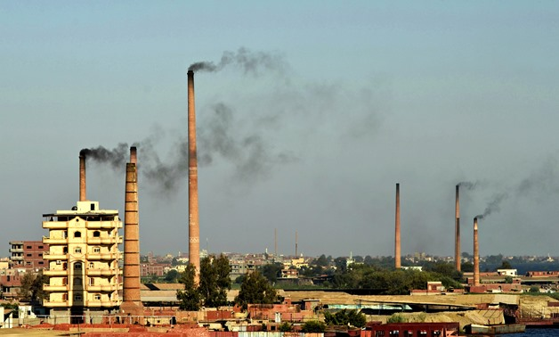 Factories in Egypt- Faris Knight via Wikimedia Commons