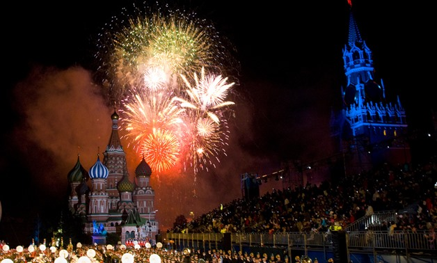 Grand Finale at the 2010 Spasskaya Tower Festival via U.S Army Europe Flickr