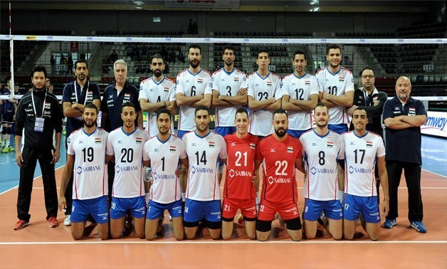 Egyptian Volleyball Team – File photo