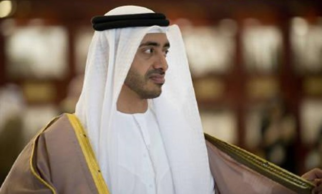 The United Arab Emirates Foreign Minister Sheikh Abdullah bin Zayed Al Nahyan - REUTERS