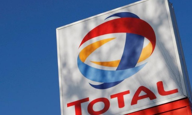A logo for oil giant Total is seen at a petrol station in London February REUTERS-Stephen Hird
