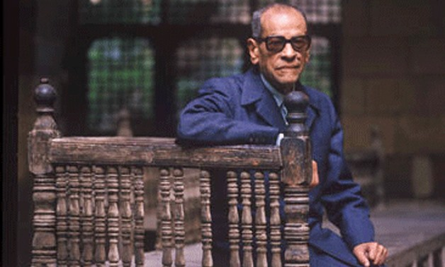 Naguib Mahfouz (Photo: Courtesy of AUC Press)